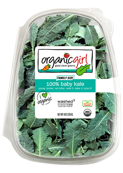 100 baby kale